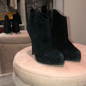 Jessica Simpson Shoes - Jessica Simpson Suede Pasadena Booties